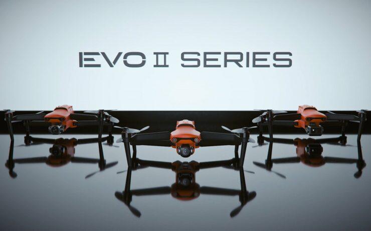 Autel EVO II Series - World's First 8K Foldable Consumer Drone