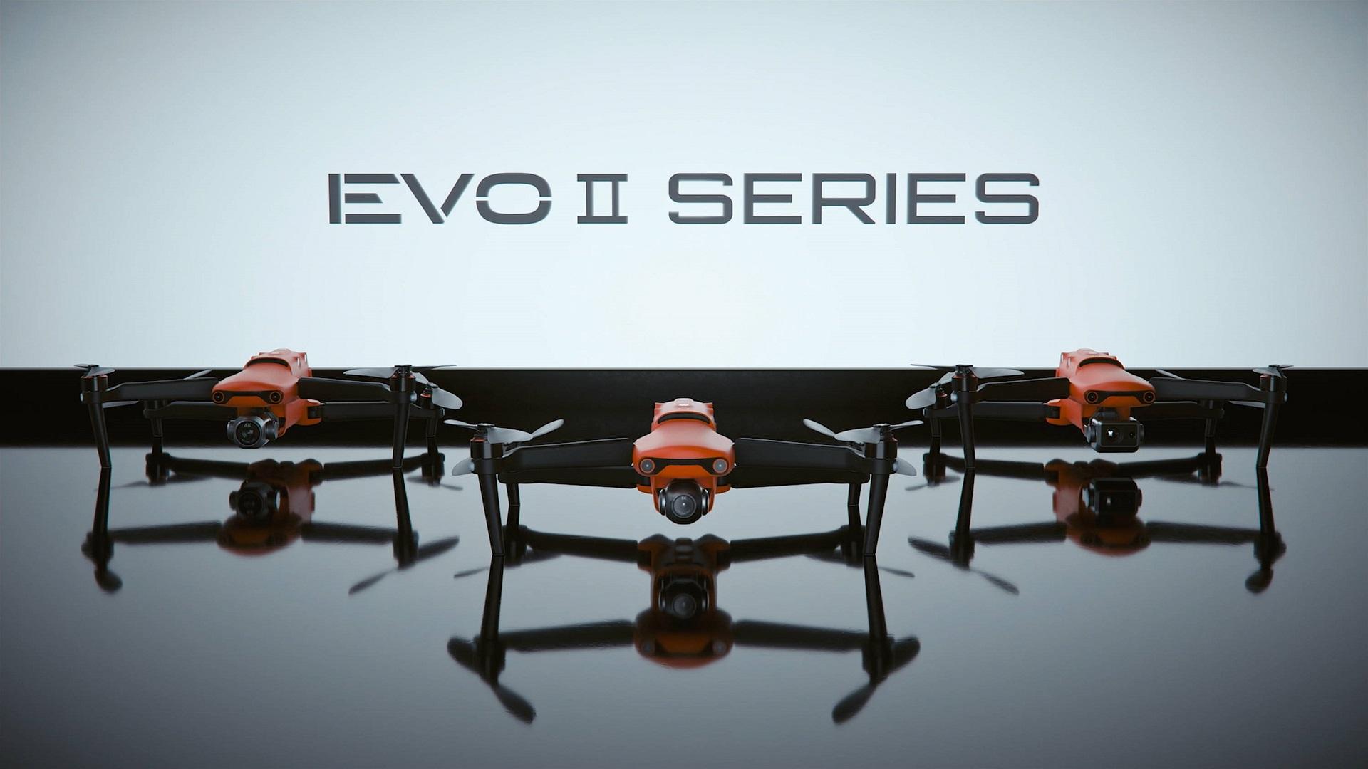 Autel EVO II Series - el primer dron plegable 8K de consumidor del mundo
