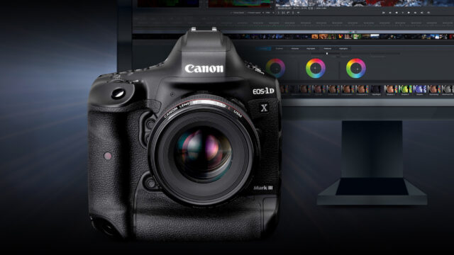 Canon 1DX Mark III white paper