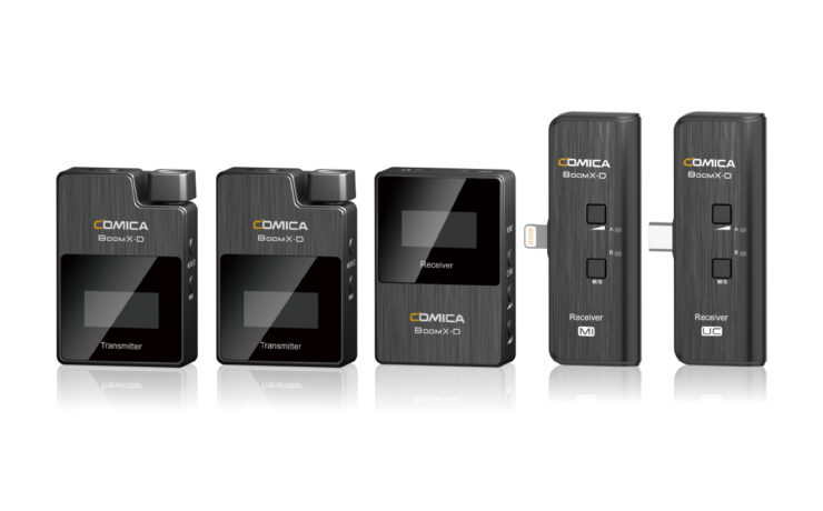 Comica BoomX-D 2.4 GHz - A Smartphone-Compatible Wireless Microphone Solution
