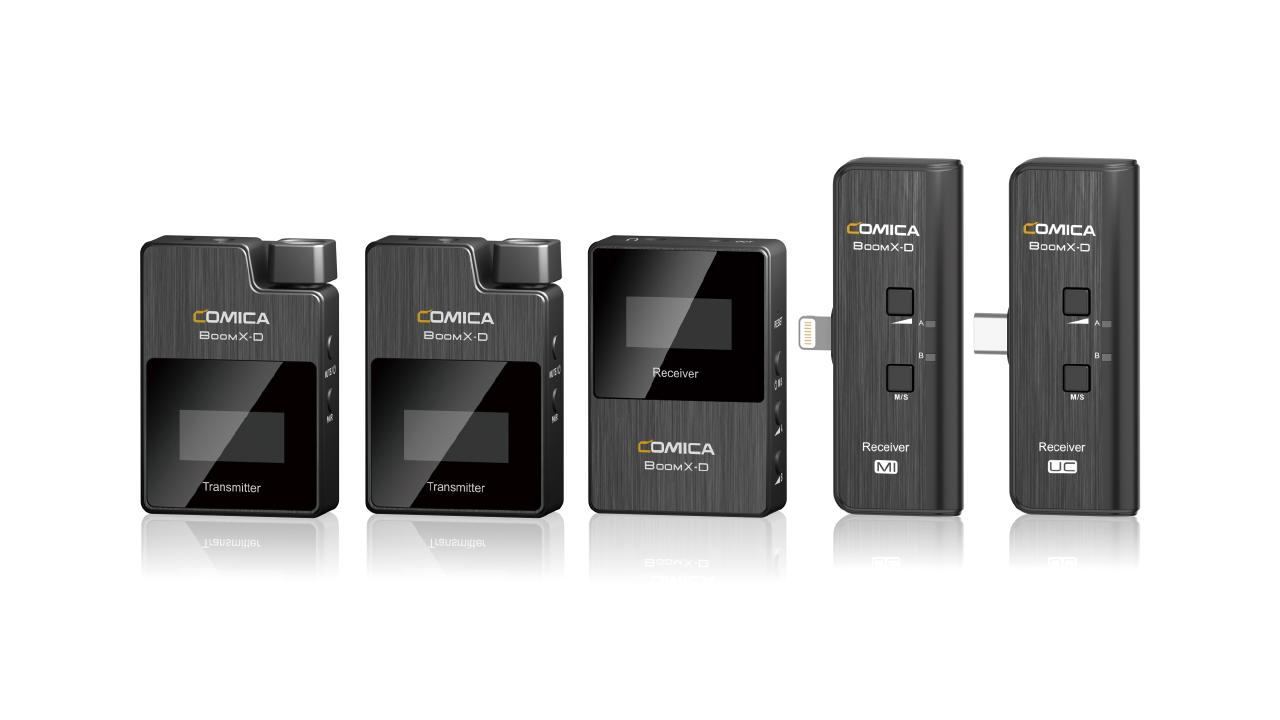 Comica BoomX-D 2.4 GHz: una solución de micrófono inalámbrico compatible con teléfonos inteligentes