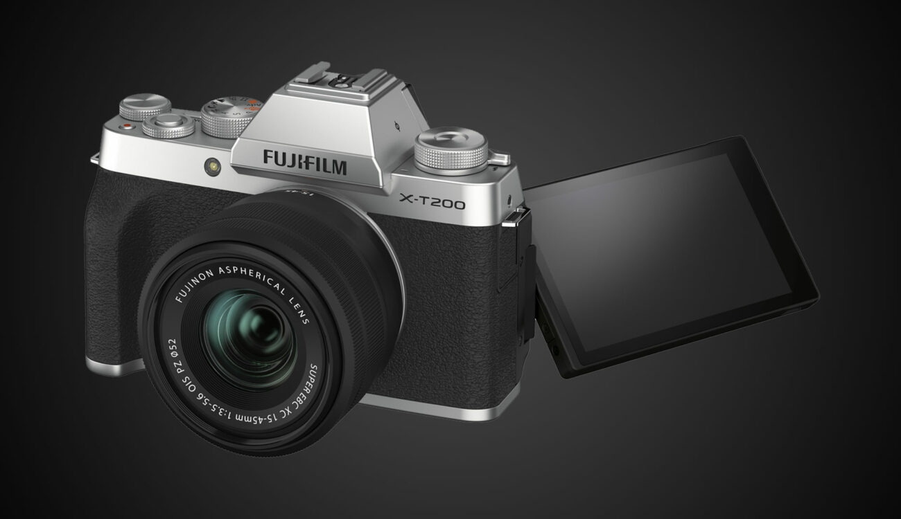 FUJIFILM X-T200 Announced - 4K Video, Digital Stabilization & Square Video