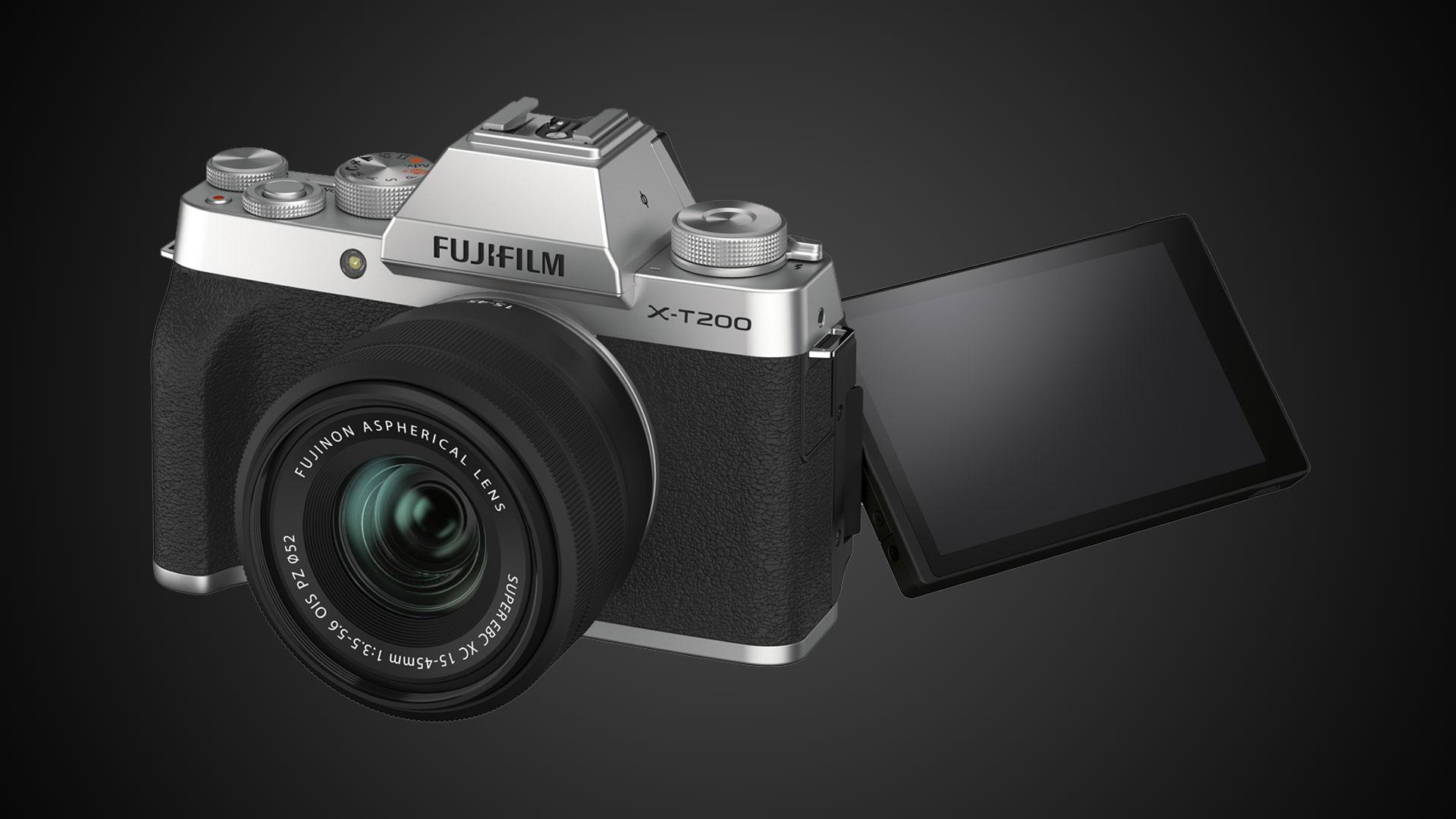 Anuncian la FUJIFILM X-T200 - video 4K, estabilización digital y video cuadrado