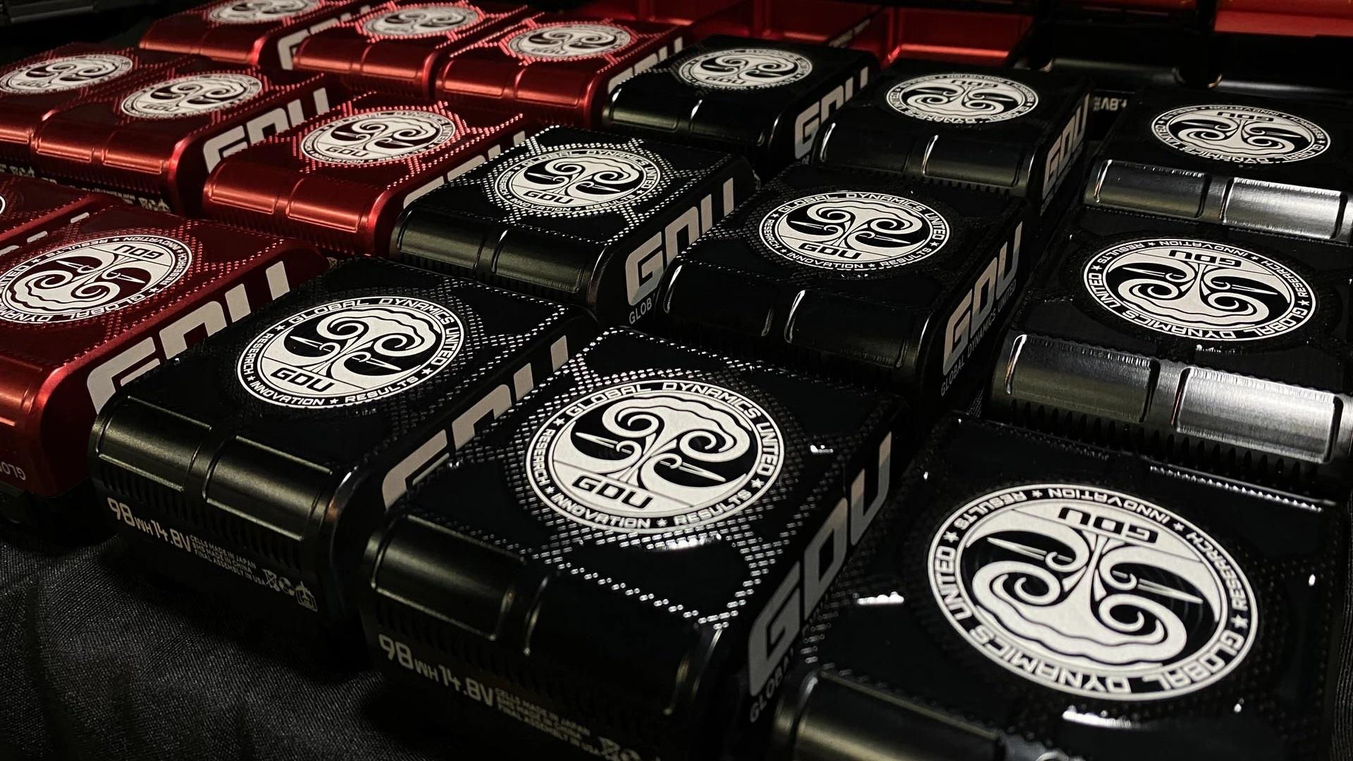 Baterías GDU Mini V-Lock - 98 Wh con tapa de aluminio