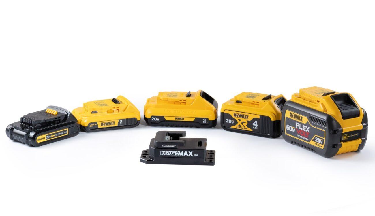 Kessler Mag Max 3A Adapter - Use Affordable DeWalt Batteries for Your Camera Gear