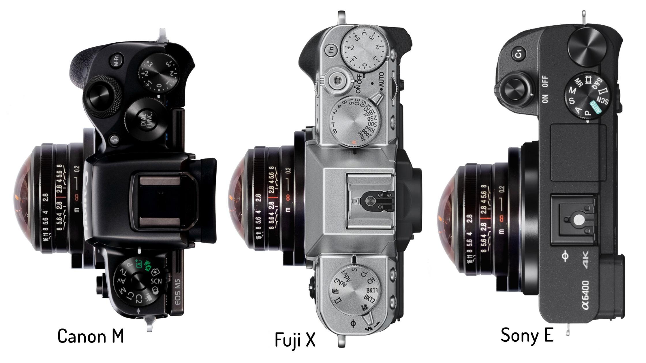 Lente ojo de pez Laowa 4 mm f/2.8 ahora disponible para montura EF-M, X y E