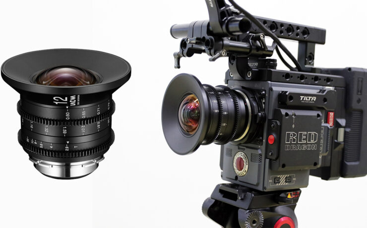 Laowa 12mm T/2.9 Zero-D Cine Lens Now Shipping