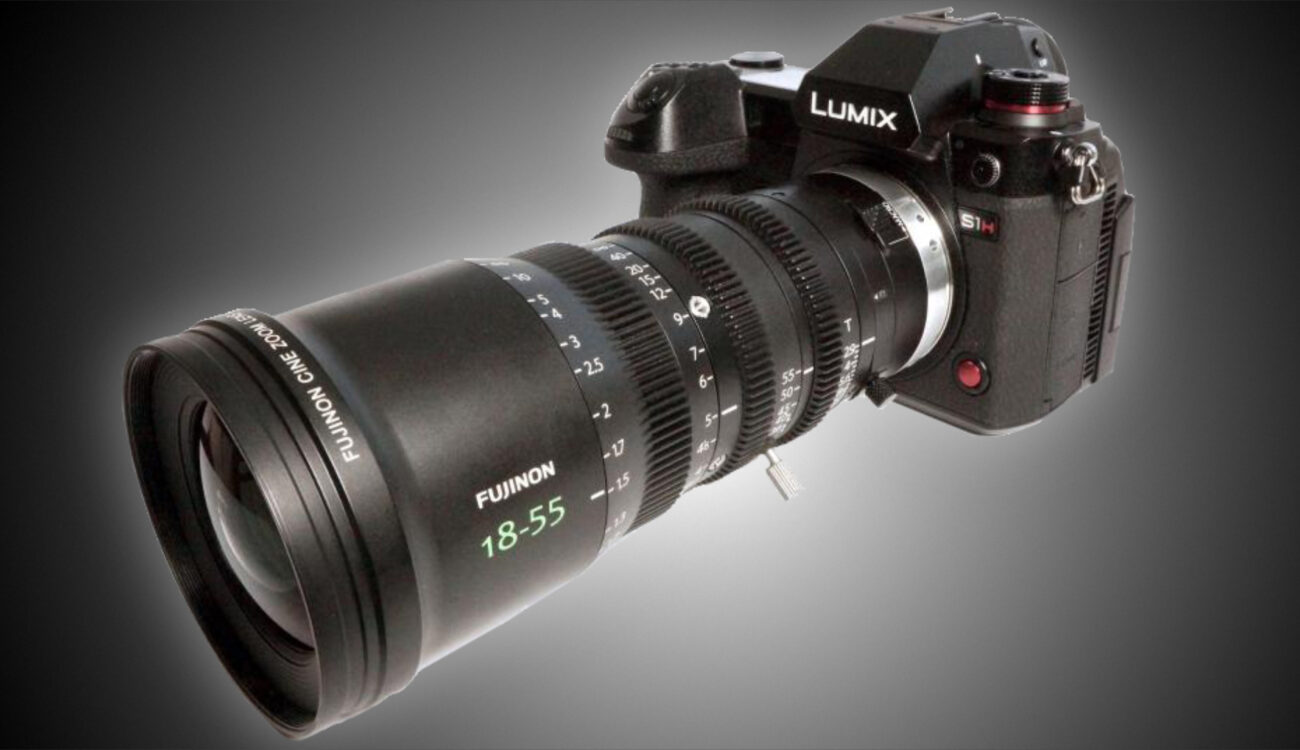 New MTF Lens Conversion Kit for FUJINON MK Zooms and L-Mount to PL Adapter