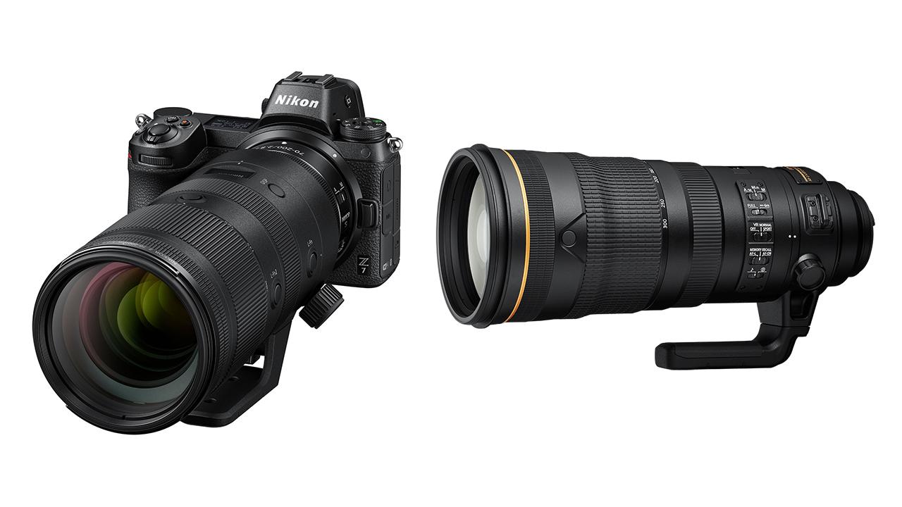 Anuncian el Nikon NIKKOR Z 70-200 mm F/2.8 VR S y el Nikon AF-S 120-300 mm F/2.8E FL ED SR VR