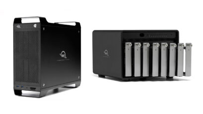 OWC Thunderbolt 3 Storage Solutions - ThunderBay 8 and ThunderBay FLEX 8