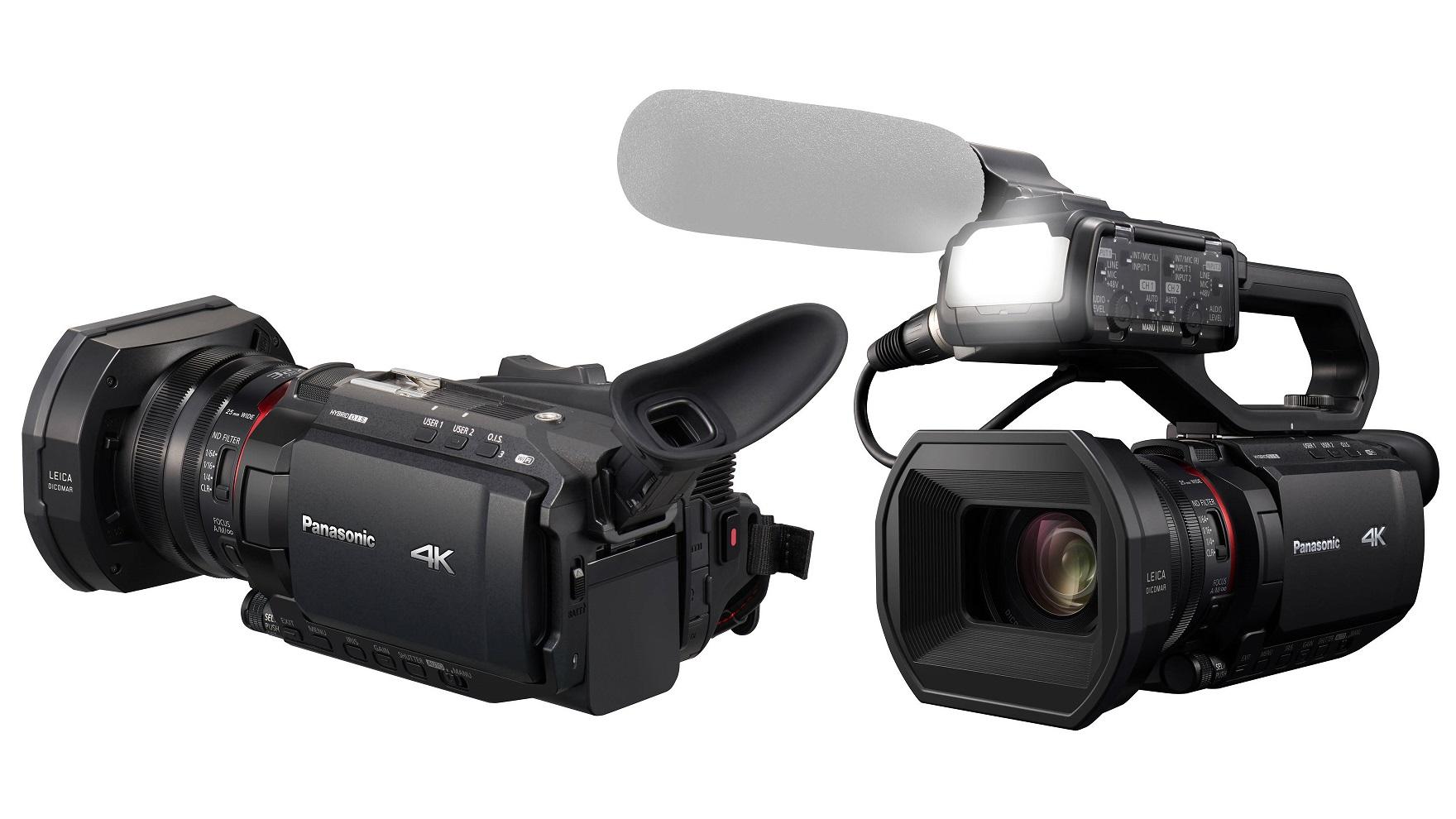 Panasonic anuncia tres nuevas videocámaras 4K 60p – HC-X1500, HC-X2000 y AG-CX10