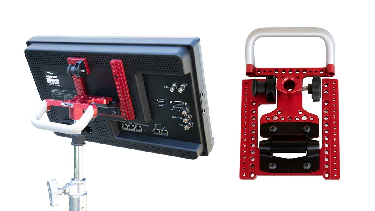 Para Mount VESA de Rigidesigns para Monitores de Producción
