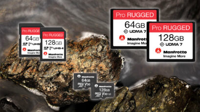Manfrotto Launches 'Pro Rugged' Line of SD, microSD and CF Cards