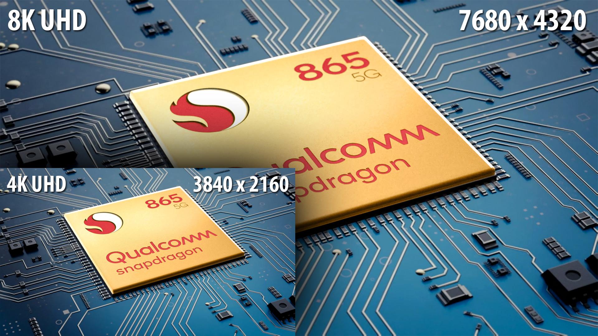 QualcomがSnapdragon 865を発表 - スマートフォンで8K/4K HDRビデオを記録