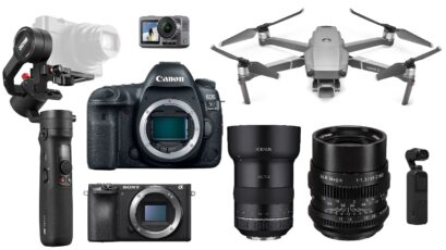This Week's Top Deals for Filmmakers – DJI Mavic 2 Pro, Sony a6500, Canon 5D Mark IV, Lenses and More