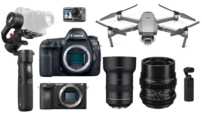 Las mejores ofertas para cineastas de esta semana - DJI Mavic 2 Pro, Sony a6500, Canon 5D Mark IV, lentes y más