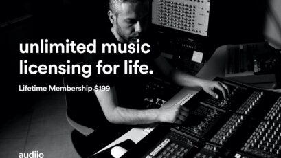 Audiio - New Music Licensing Platform Offers $199 Lifetime Membership