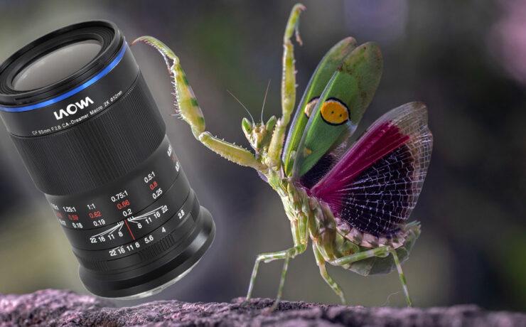 Laowa 65mm f/2.8 2X Macro APO Lens for APS-C Announced