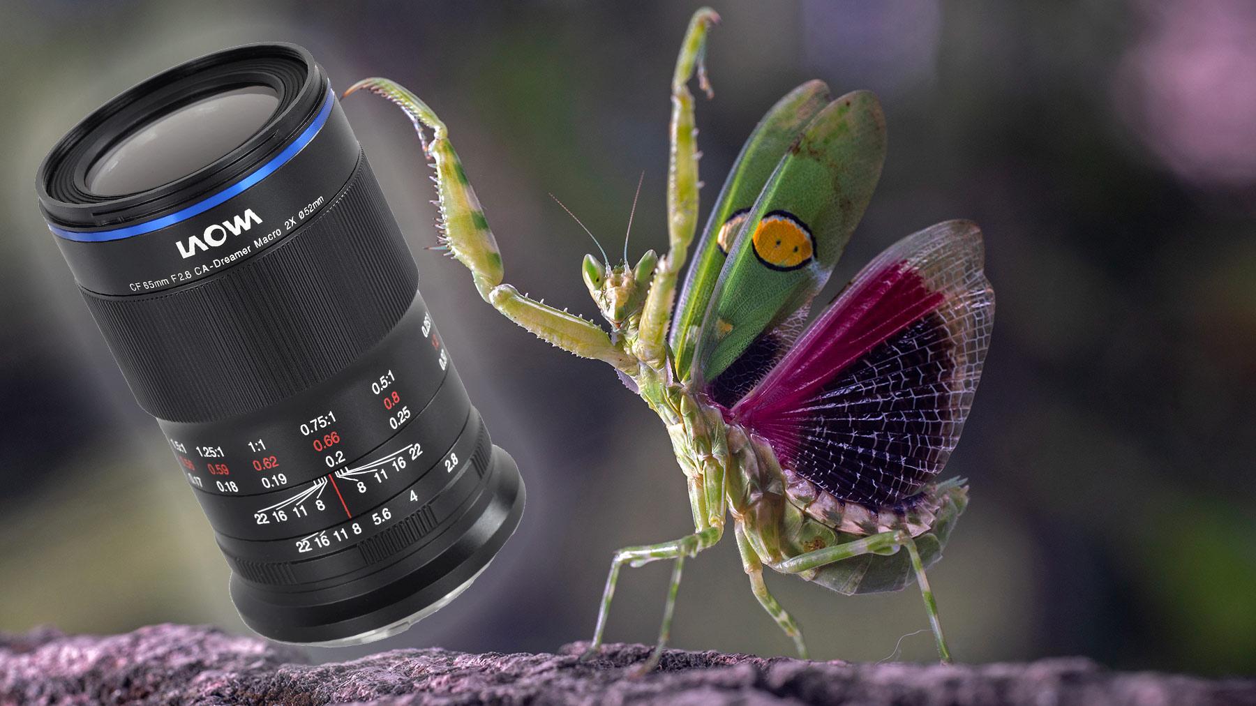 Anuncian lente Laowa 65 mm f/2.8 2X Macro APO para APS-C