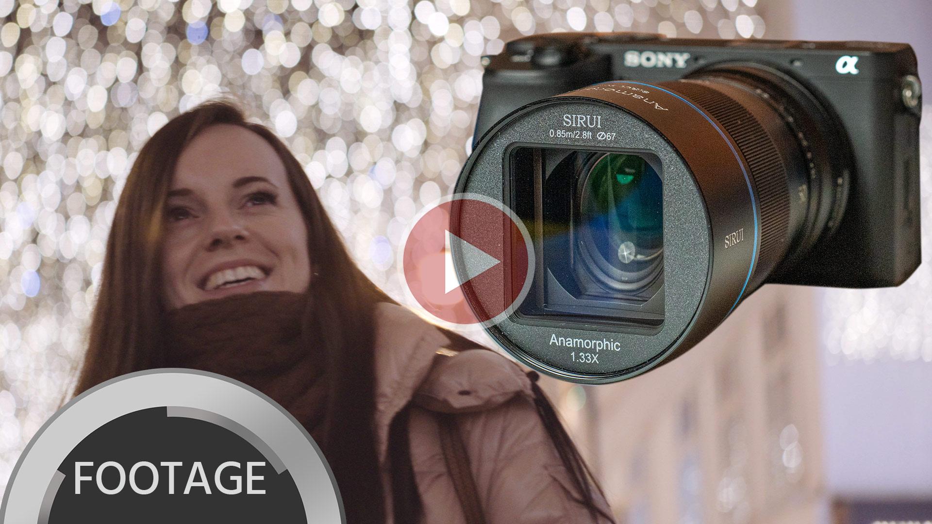 Más imágenes del lente anamórfico SIRUI 50 mm - Versión de montura Sony E