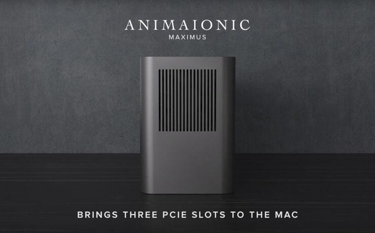 ANIMAIONIC MAXIMUS Kickstarter - Add Three PCIe Slots to Your Mac