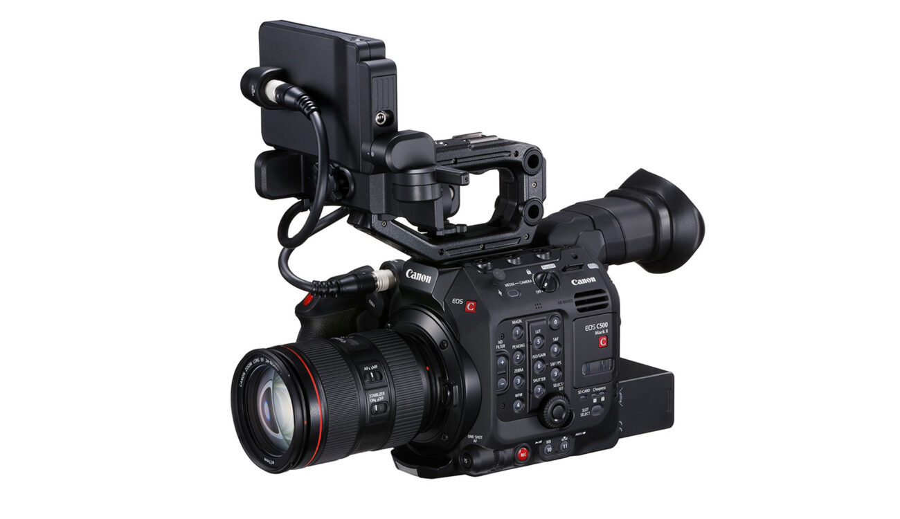 Canon C500 Mark II - Firmware Update V1.0.1.1