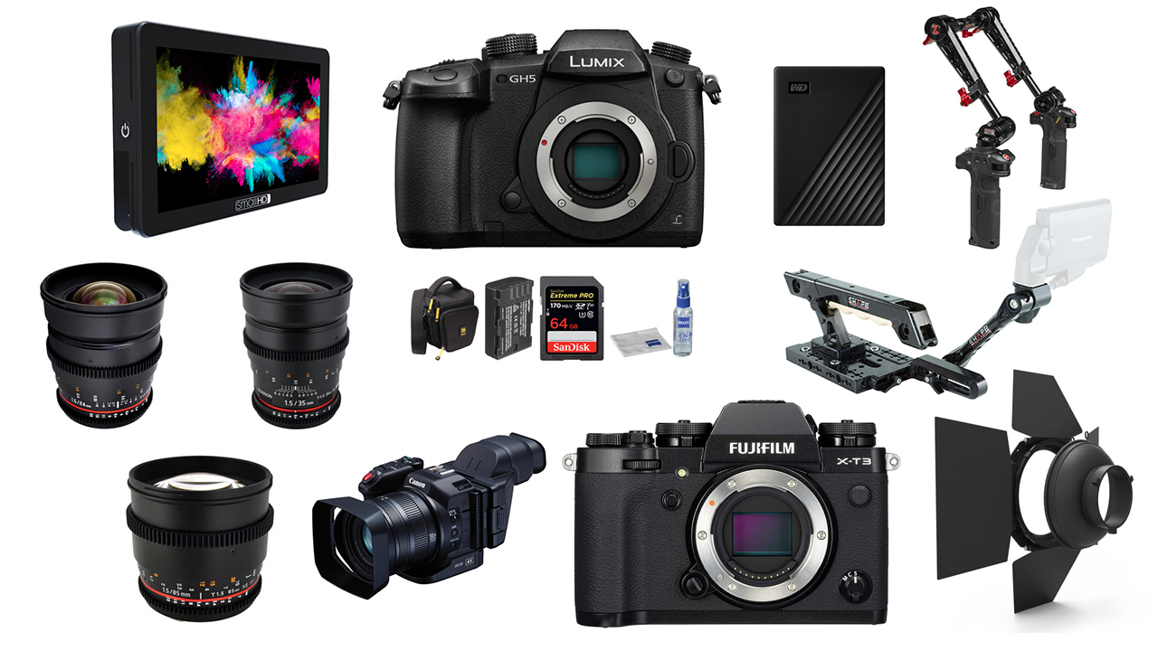 Las 10 mejores ofertas de la semana para cineastas – SmallHD Focus, Panasonic GH5, FUJIFILM X-T3 y más