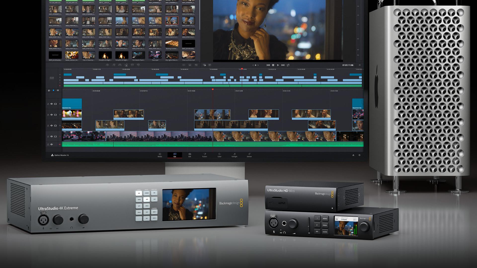 ブラックマジックデザインがDesktop Videoのソフトウェアバージョンをアップデート
