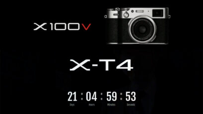 FUJIFILM X-T4 Announced and FUJIFILM X100V Launched