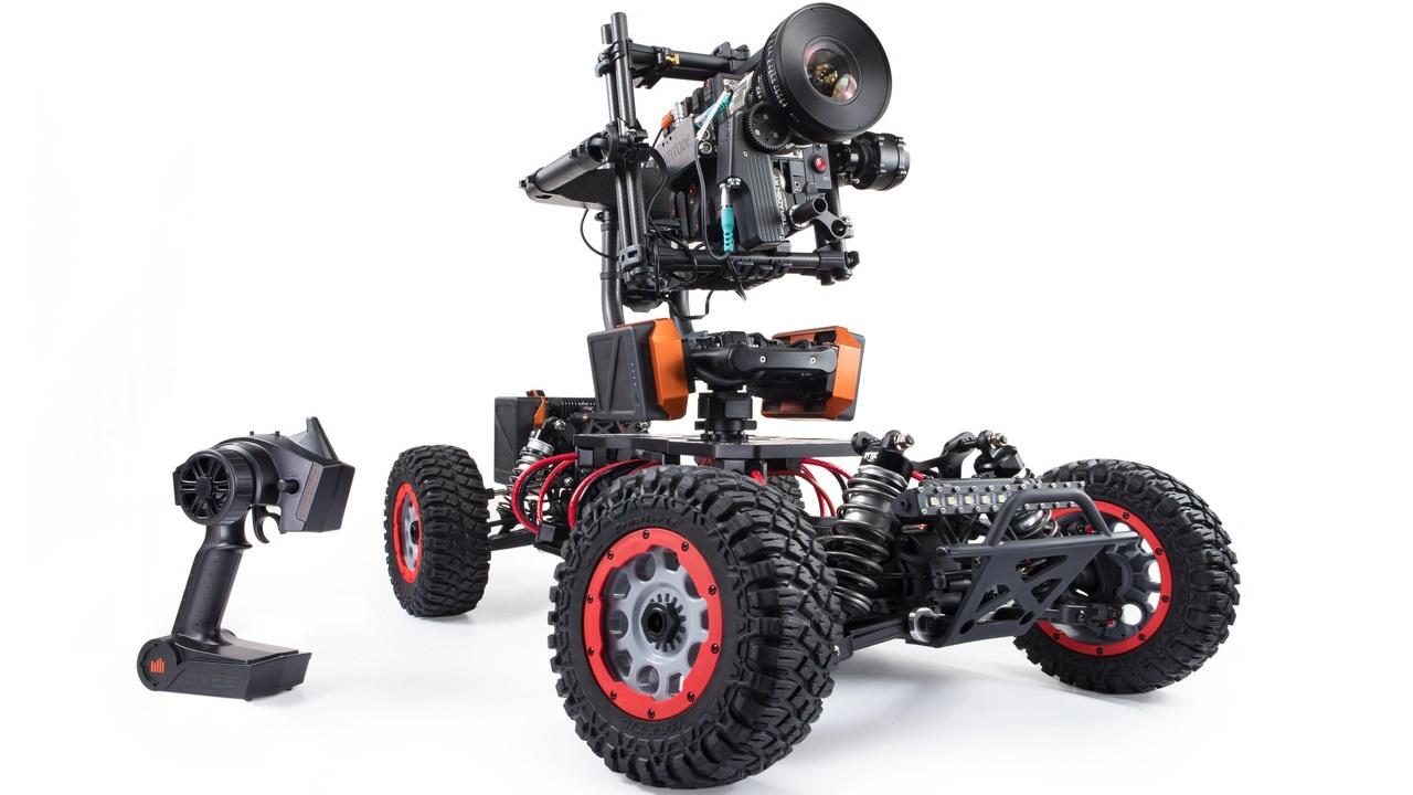 Kessler KillShock Recon - Buggy a control remoto 4x4 escala 1/5 con base para cámaras