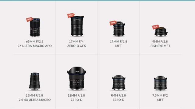 Laowa by Venus Optics - Photography Lenses - New Products (Credits: Venus Optics)
