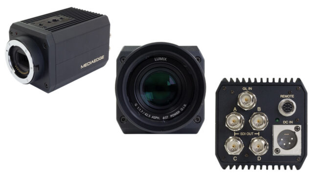 MEDIAEDGE - Micro Four Thirds QDCam (4K and 240fps @ 1080p) (Image collection credits: MEDIAEDGE)