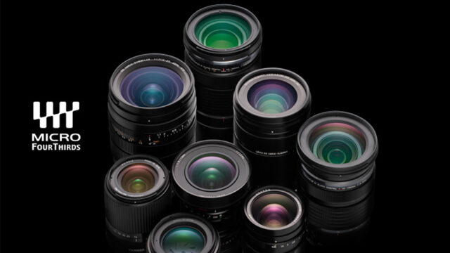 Lens Collection from the MFT System Standard Group (Credits: Olympus Corporation / four-thirds.org)