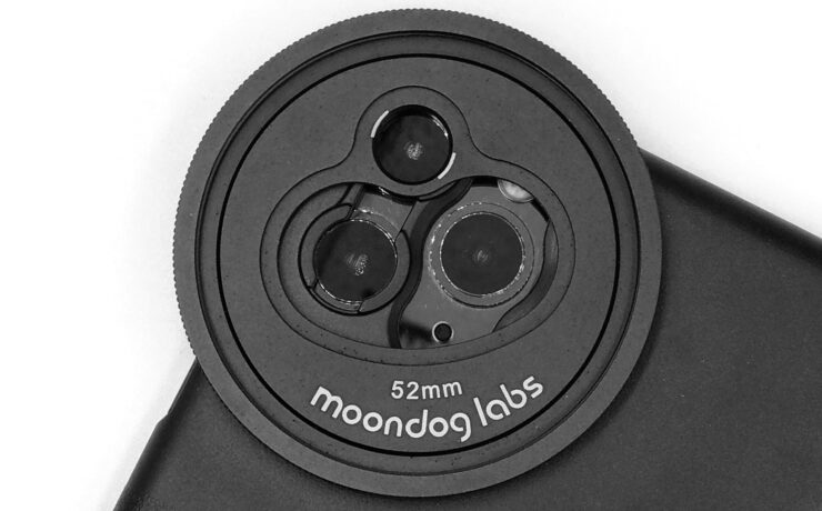 Moondog Labs Multi-Camera Filter Mount for iPhone 11