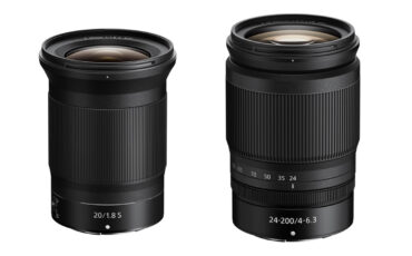 Nikon NIKKOR Z 20mm F/1.8 S and NIKKOR Z 24-200mm F/4-6.3 VR Lenses Announced
