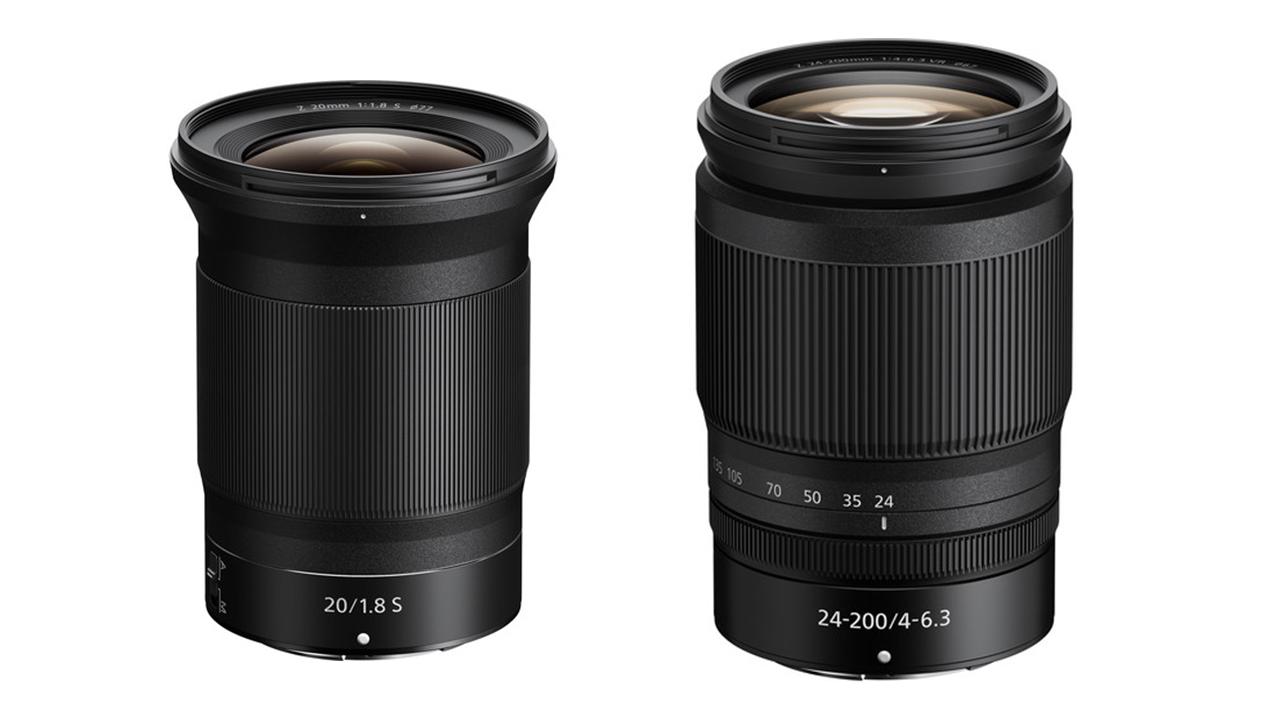 Nikon NIKKOR Z 20mm F/1.8 S and NIKKOR Z 24-200mm F/4-6.3 VR Lenses Announced