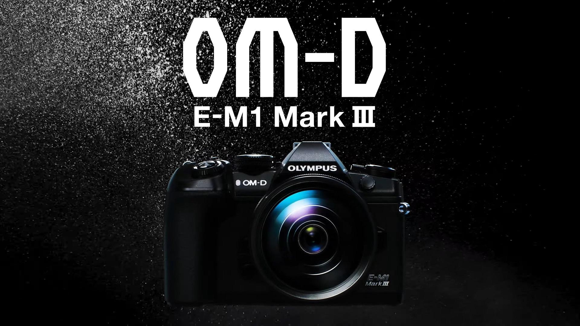 Anuncian la Olympus OM-D E-M1 Mark III – características de estabilización y fotografía impresionantes