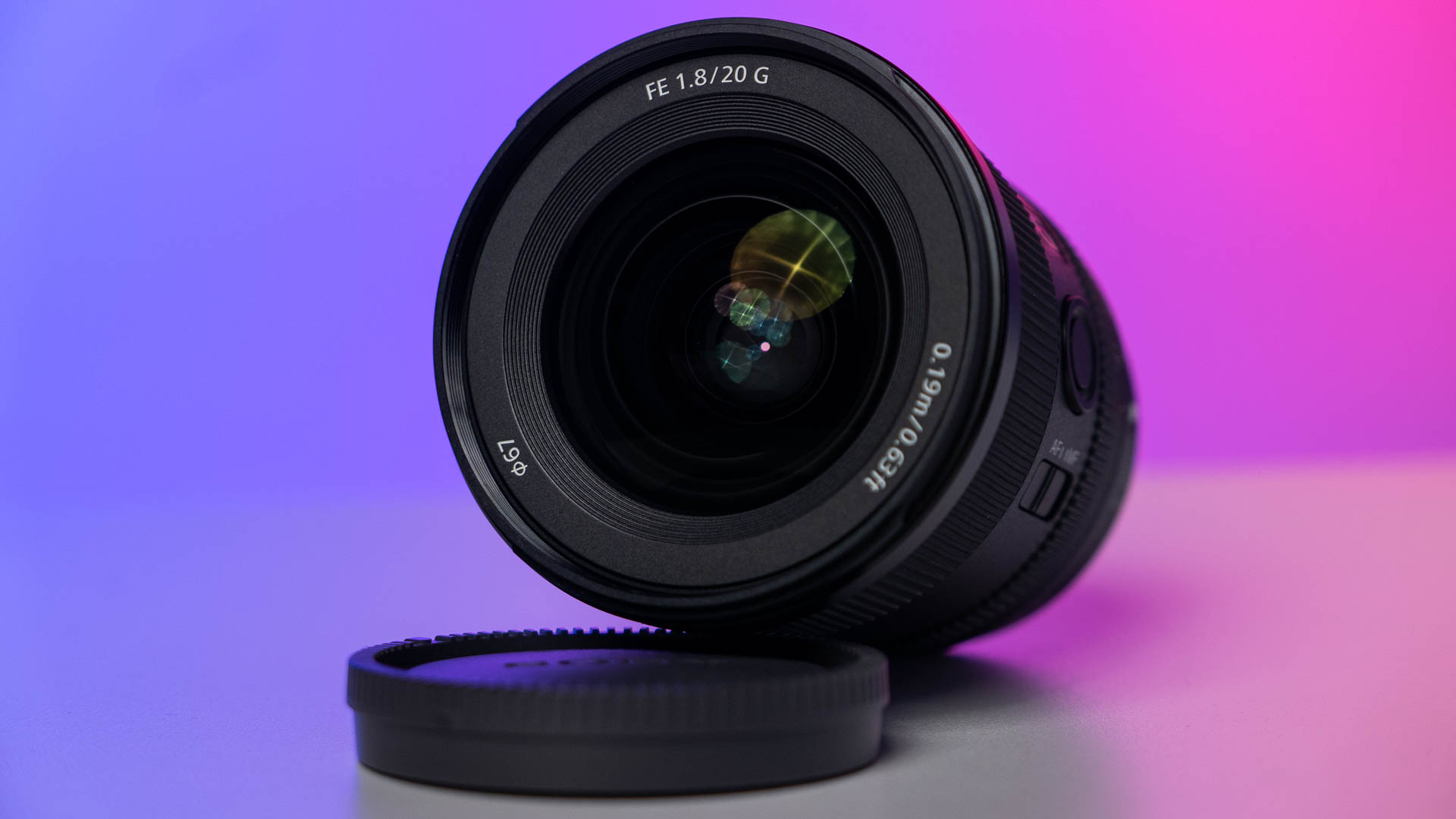 Anuncian el Sony FE 20 mm f/1.8 GM – lente AF ultra gran angular con anillo de apertura manual