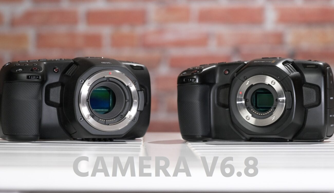 Blackmagic Pocket 4k And 6k Get New Camera V6 8 Firmware Update Cined
