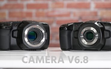Blackmagic Pocket 4K and 6K Get New Camera V6.8 Firmware Update