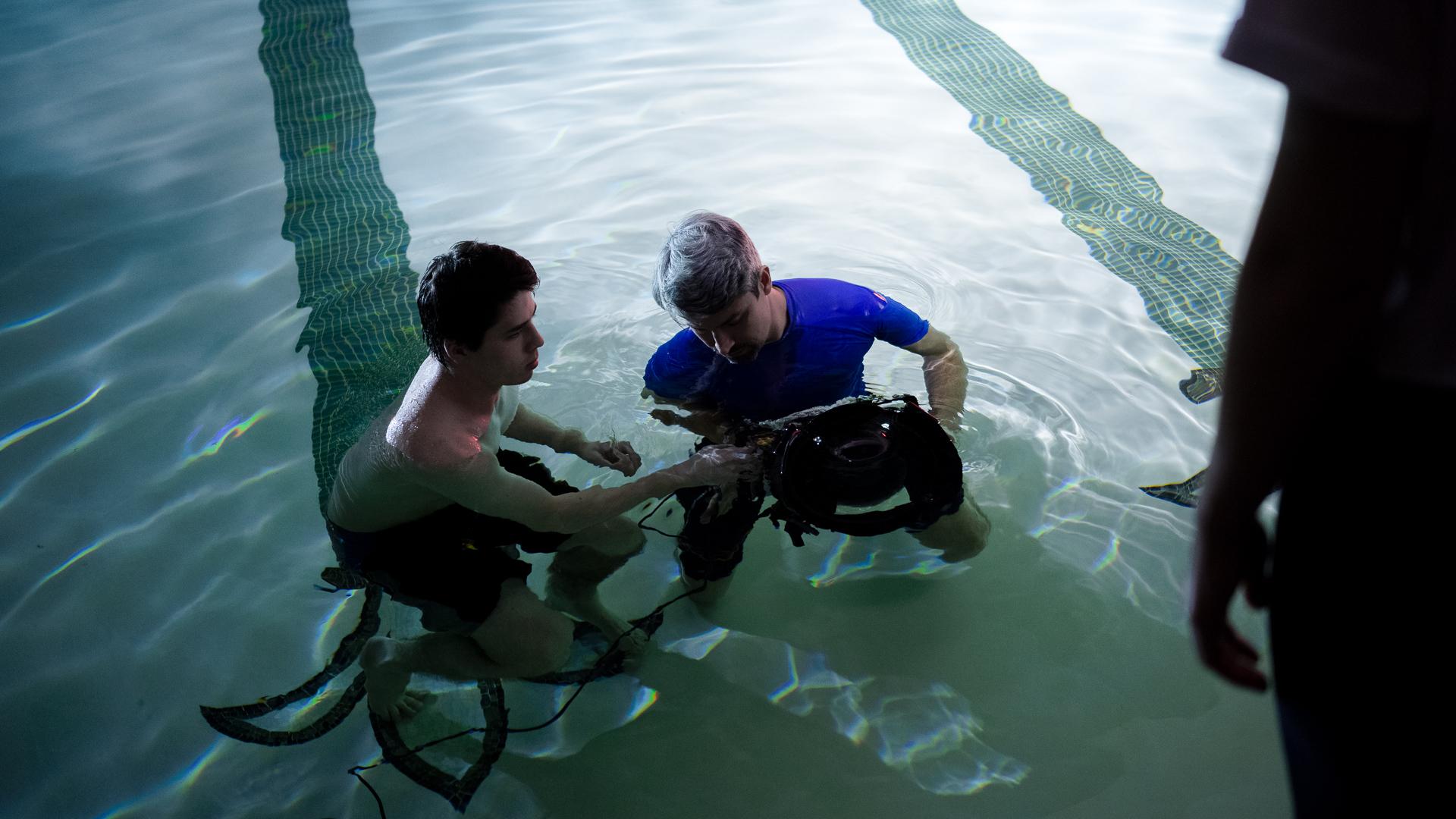 水中撮影の考察