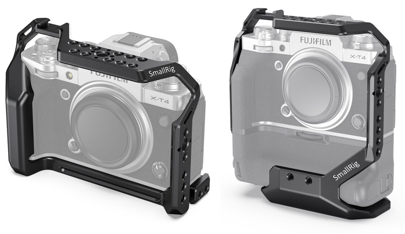 SmallRig FUJIFILM X-T4 Cage Announced - Version With and Without Battery Grip