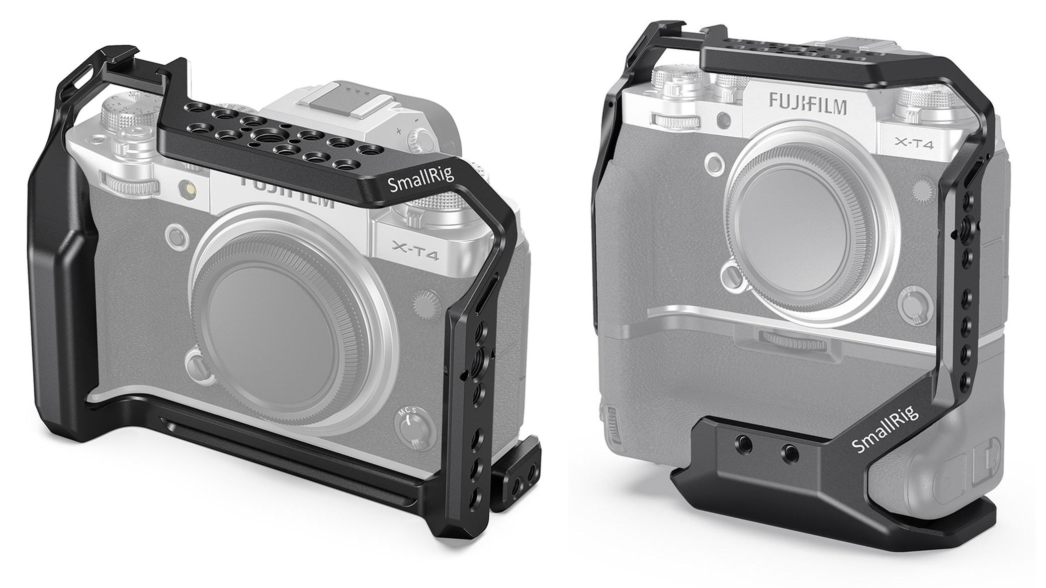 SmallRigが富士フイルムX-T4用ケージを発表