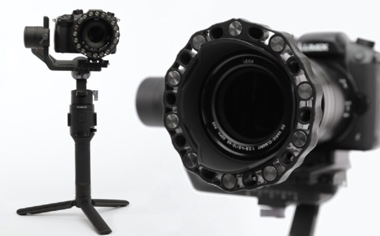 """StabiLens - Counterweight System for Lens """"Hot-Swapping"""" on Gimbals"""