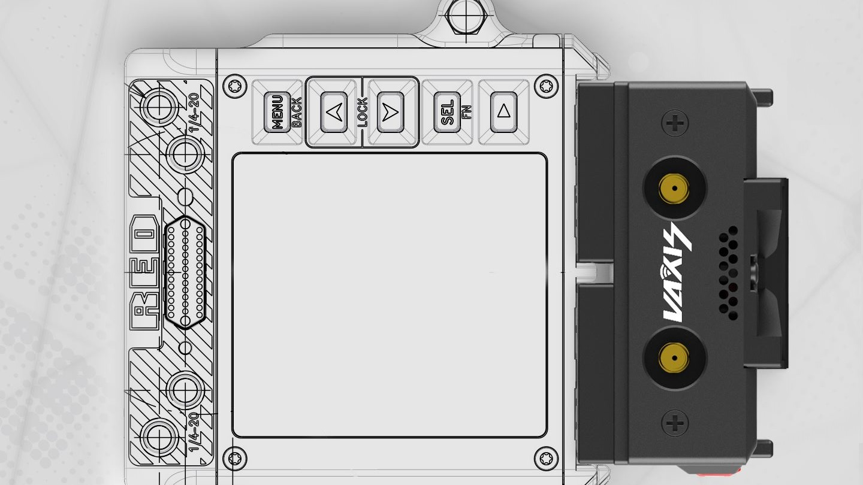 VAXIS ATOM 600 KV - Anuncian módulo de video inalámbrico para RED Komodo