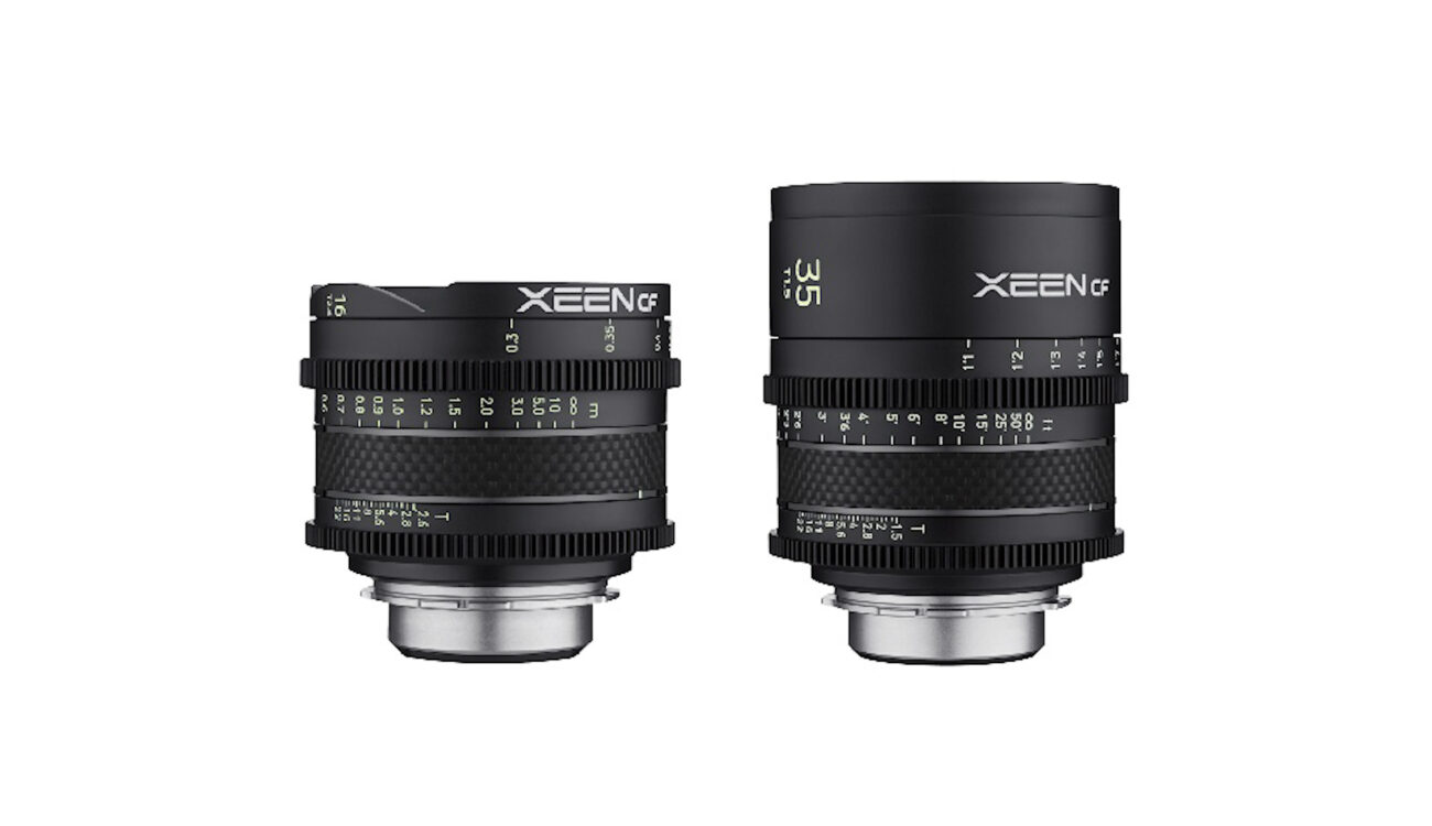 Rokinon XEEN CF Lens Line Expanded By 16mm T2.6 and 35mm T1.5