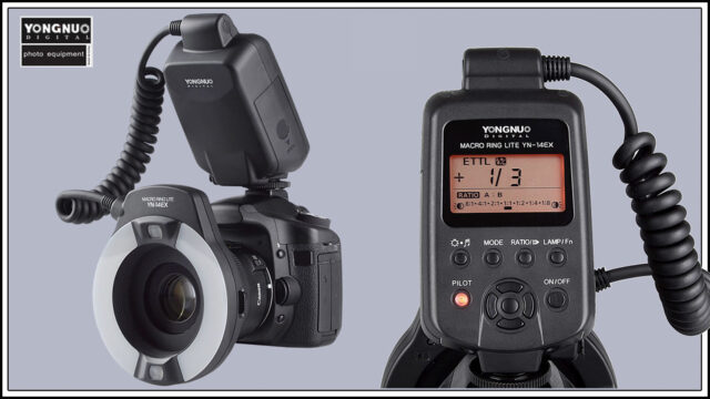 YONGNUO Macro Flash YN14EX (Graphic based on images by: YONGNUO)