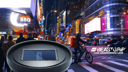 Beastgrip 1.55X Anamorphic Smartphone Lens - Coming Soon To Kickstarter