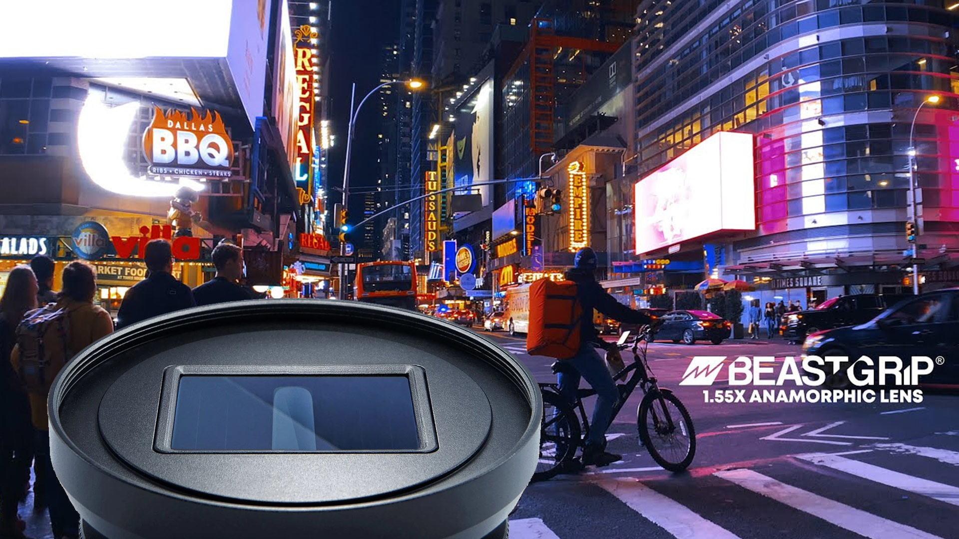 Lente anamórfico para teléfonos inteligentes Beastgrip 1.55X: próximamente en Kickstarter
