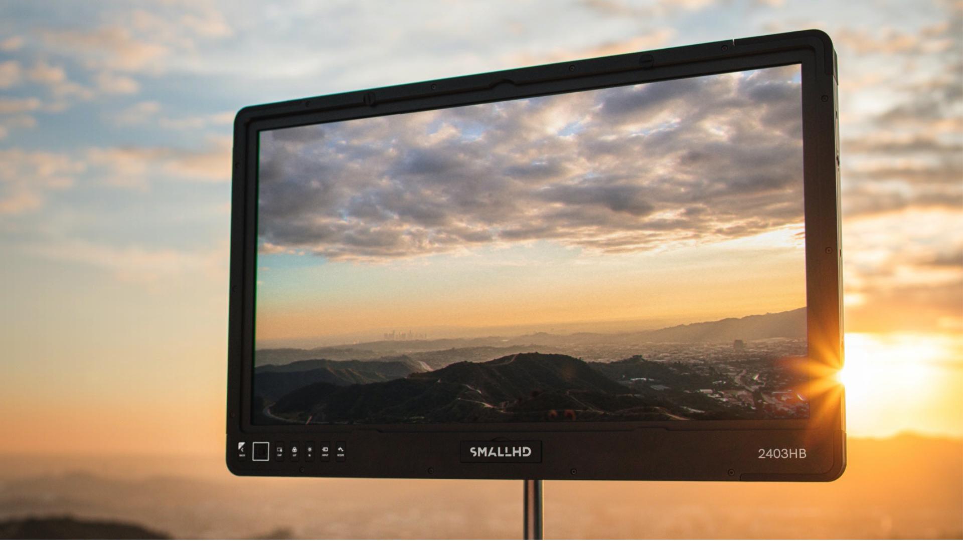 SmallHD 2403 – Monitor de producción de alto brillo con 1600 nits